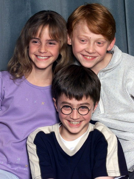 Emma Watson cùng hai bạn diễn trong