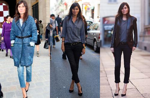 2. Emmanuel Alt Tổng biên tập tạp chí Vogue Paris đầy cá tính đứng thứ hai trong danh sách này. Là con gái của một người mẫu của Nina Ricci và Lanvin vào thập niên 70 của thế kỷ trước, Emmanuel đã định hình cho mình phong cách nổi loạn rock n roll ngay từ sớm. Bà yêu thích những chiếc quần jeans của Topshop và không ngần ngại chia sẻ điều này.