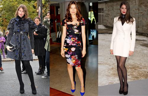 6. Laetitia Casta Một đại diện khác cho vẻ đẹp lạnh lùng, cuốn hút tự nhiên kiểu Pháp, Laetitia Casta, là một tài năng bẩm sinh trong làng thời trang thế giới. Những shoot ảnh của cô cuốn hút với vẻ đẹp gợi cảm nhưng nhẹ nhàng và trong sáng. Chính tổng biên tập tạp chí Elle của Pháp cũng phải khen ngợi rằng chỉ cần quần jeans và áo phông đơn giản cũng giúp cô tỏa sáng.