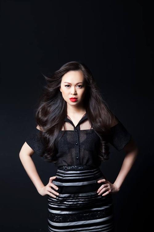 Cựu người mẫu Ngọc Nga.