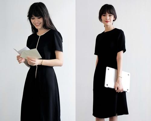 Những chiếc váy đen thường khơi gợi sự tò mò và trí tưởng tượng. Và với một chút bí ẩn thì người phụ nữ càng hấp dẫn hơn.