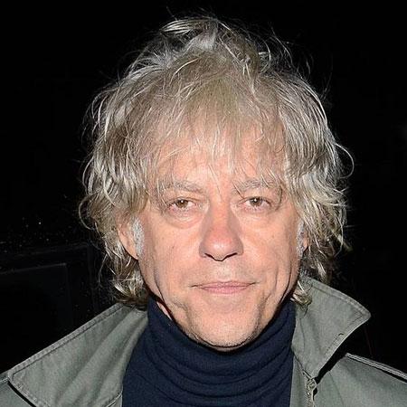Rocker Bob Geldof.