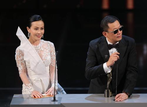 Lễ trao giải thưởng điện ảnh Kim Tượng (Hong Kong) diễn ra tối 13/4. Phim Nhất đại tông sư được trao những giải thưởng quan trọng.