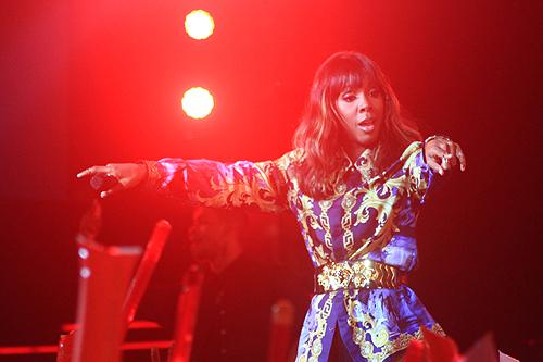 Kelly Rowland trải lòng về cuộc đời và sự nghiệp qua những bài hát trong đêm 17/4.