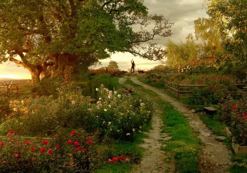Khung cảnh thơ mộng của miền quê nước Pháp trong phim.