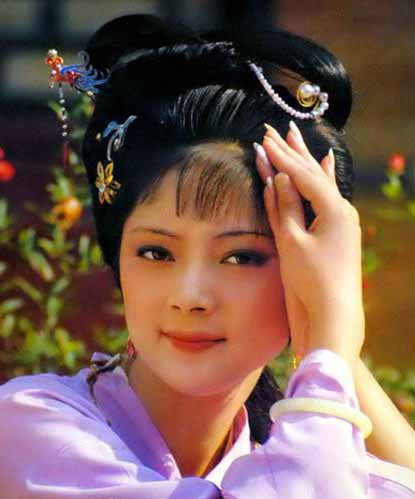 Thời đóng Hồng lâu mộng, Trương Lợi mới là cô gái độ mười tán đôi mươi, trẻ trung