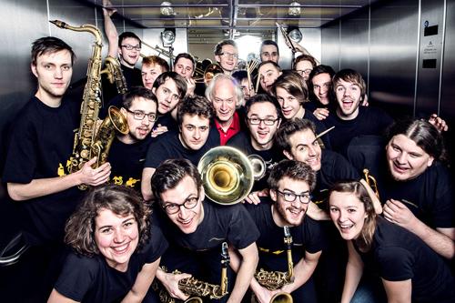 Nhóm nhạc The Bavarian Youth Jazz Band bao gồm các gương mặt trẻ xuất