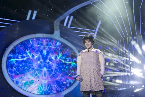 Vy Oanh xuất hiện trong chương trình
