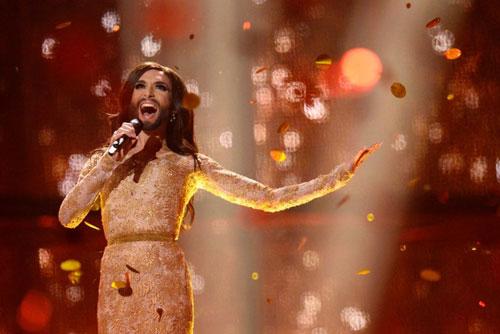 Conchita Wurst biểu diễn tại