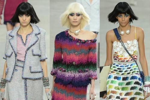 khi nhắc đến chất liệu này, những người sành thời trang không thể không nghĩ ngay đến Chanel, và ngược lại.
