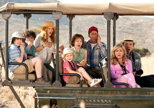 Phim mang không khí mùa hè và đưa người xem đi du lịch tới Nam Phi hoang dã.