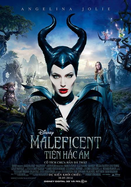 """""""Maleficent"""" là bộ phim của Disney dựa trên câu chuyện """"Người đẹp ngủ trong rừng"""" nhưng Tiên hắc ám Maleficent lại là nhân vật chính. Ảnh: Disney."""