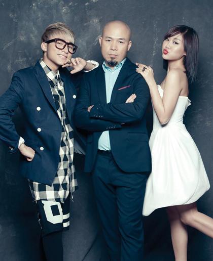 Huy Tuấn là giám đốc âm nhạc cho công ty quản lý độc quyền Sơn Tùng M-TP và Văn Mai Hương. Ảnh: Travis Nguyen.