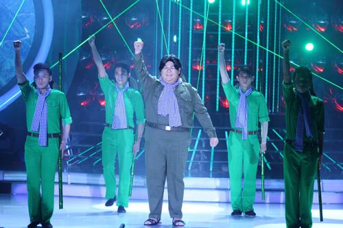 Vương Khang đem tới đêm chung kết ca khúc