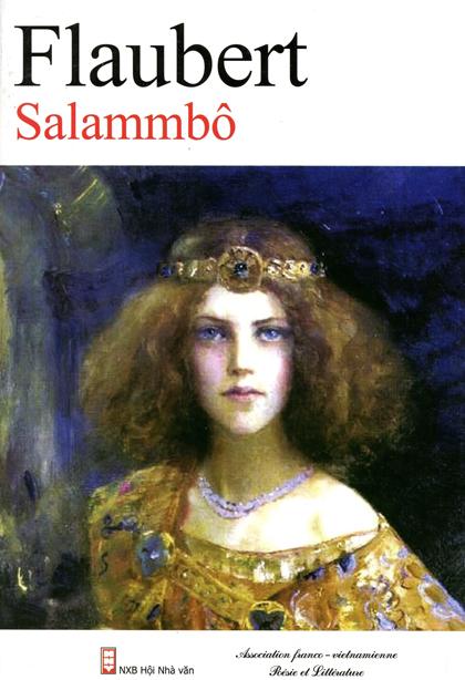 """Bìa sách """"Salammbô""""."""