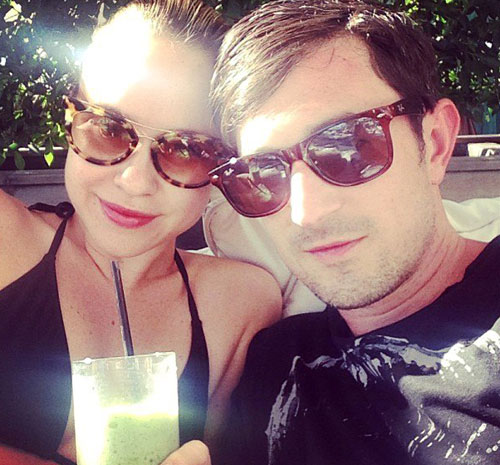 Becca Tobin và Matt Bendik.