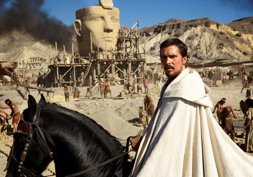 Tài tử Christian Bale vào vai vị anh hùng thời Ai Cập cổ đại.