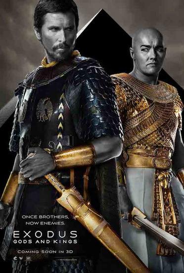 """Poster chính thức của phim """"Exodus: Gods and Kings""""."""