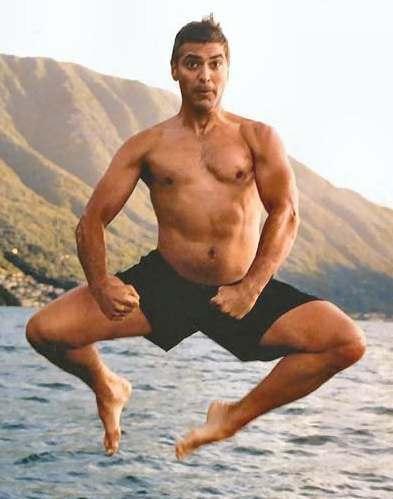 Sao nam hollywood duy trì cơ thể săn chắc nhờ yoga - 3
