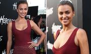 Irina Shayk trễ nải váy khoét ngực sâu