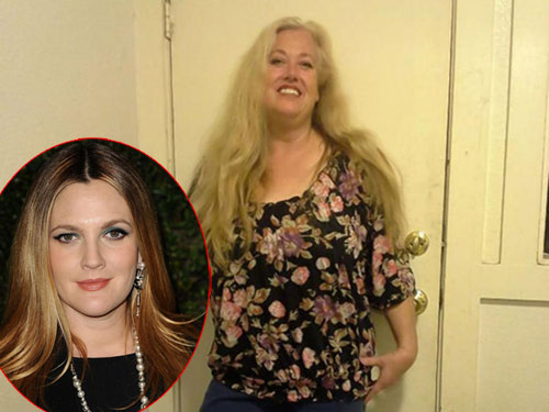 Jessica Barrymore là chị gái cùng cha khác mẹ của Drew Barrymore (ảnh nhỏ).