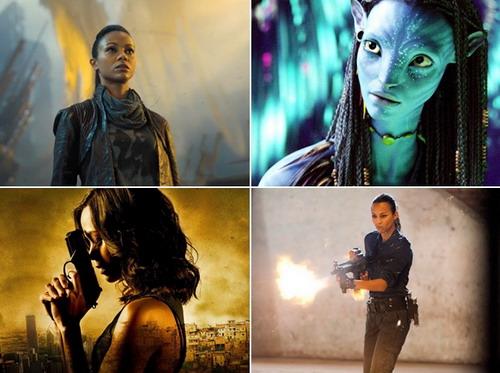 Zoe Saldana nổi tiếng với những vai diễn mạnh mẽ, khẳng định nữ quyền trên màn ảnh rộng.