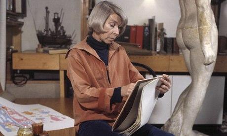 Nhà văn Tove Jansson khi còn sống.