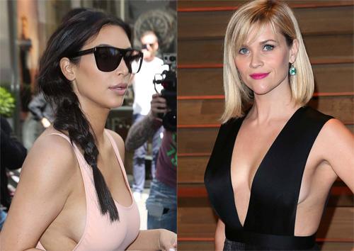 Kim Kardashian vàReese Witherspoon