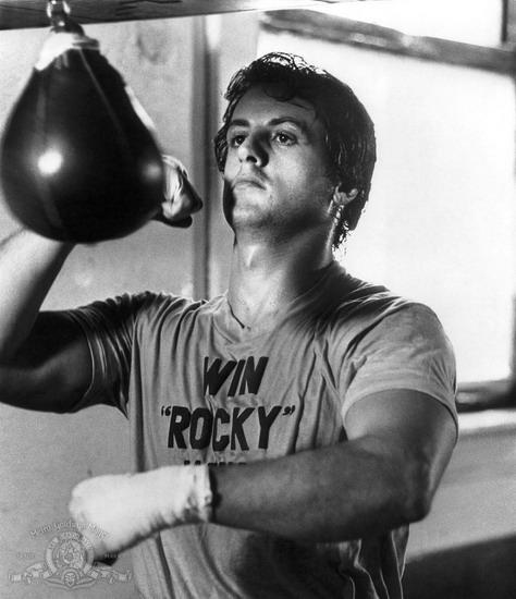 Rocky là nhân vật huyền thoại gắn với tên tuổi của Sylvester Stallone.