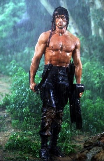 Rambo cũng là một nhân vật được yêu thích trong phim hành động.