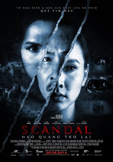 """Poster chính thức của """"Scandal: Hào quang trở lại""""."""