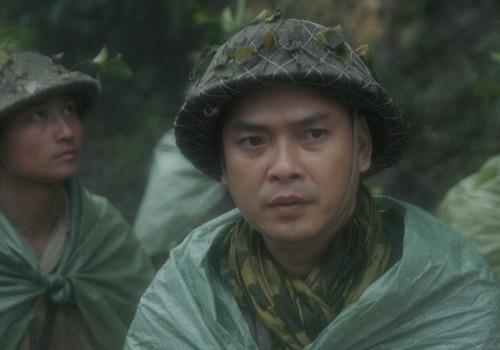 """Tạo hình Đại tướng Võ Nguyên Giáp thời trẻ trong phim """"Sống cùng lịch sử""""."""