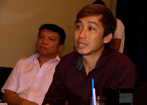 Ông Thiên Quang - Giám đốc công ty Việt Show