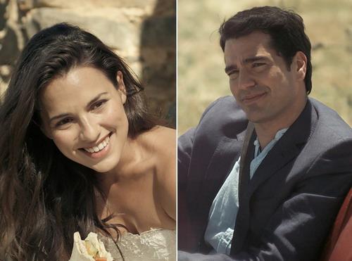 Hai diễn viên chính của bộ phim.