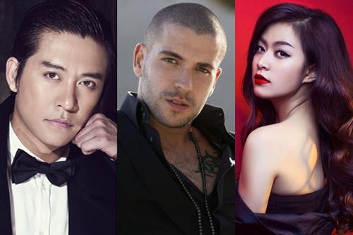 Shayne Ward sẽ trình diễn cùng nhiều nghệ sĩ Việt tại lễ hội âm nhạc Glow.