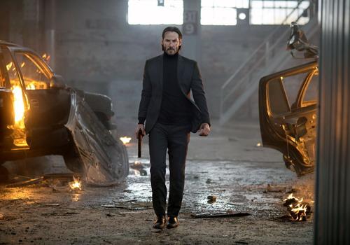 Keanu Reeves vào vai sát thủ máu lạnh của thế giới ngầm.