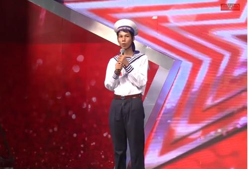 Lê Quang Anh đem lại những tràng cười giòn giã nơi khán phòng sơ khảo Vietnam's Got Talent tại miền Bắc.