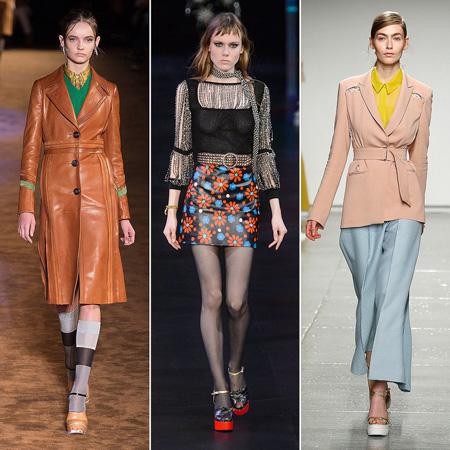 Phong cách thời trang thập niên 1970 vừa qua có cú trở lại ngoạn mục trên sàn diễn của Gucci, Prada, Valentino, Saint Laurent, Jason Wu, Victoria Beckham