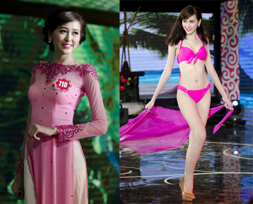 Nguyễn Ngọc Mai năm nay 20 tuổi và là người mẫu tự do.