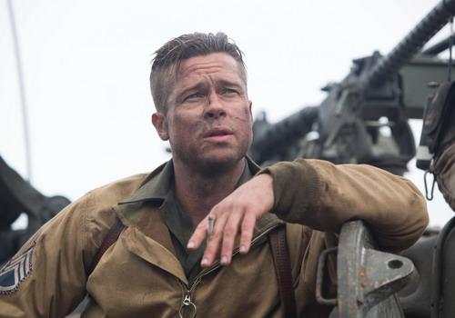 Tạo hình phong trần của Brad Pitt trong phim.
