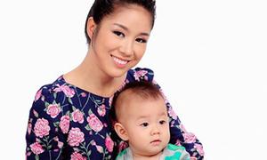 Lê Phương: 'Tôi tự tin một mình nuôi dạy con tốt'