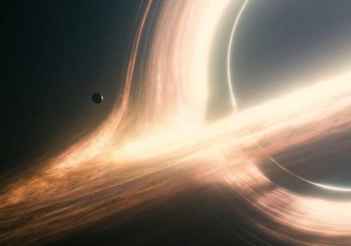 """Hiệu ứng hình ảnh về dải ngân hà trong """"Interstellar""""."""