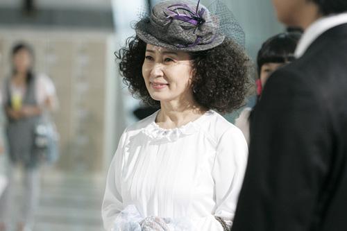 Hình ảnh Kim Ja Ok trên phim.