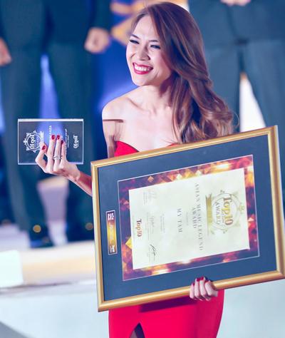 Nữ hoàng nhạc pop Việt Nam, Mỹ Tâm sẽ được trao giải