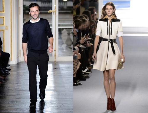 Trong khi đó, Nicholas Ghesquiere-người kế nhiệm Marc Jacobs tại Louis Vuitton, lại vui mừng khi nhận giải :