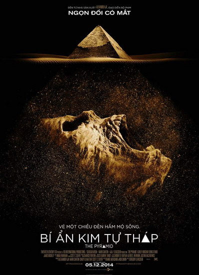 "Poster phim ""The Pyramid""."