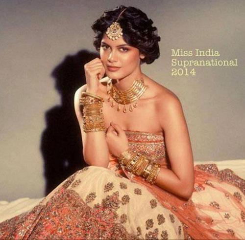 Asha Bhat giành danh hiệu Hoa hậu Siêu quốc gia Ấn Độ trong cuộc thi Miss Diva hồi tháng 11.