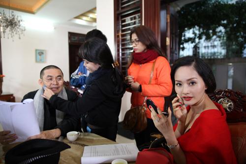 Lan Phương 'cặp bồ' với Xuân Hinh trong phim hài Tết