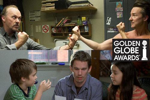 'Birdman', 'Boyhood' dẫn đầu đề cử Quả Cầu Vàng 2015