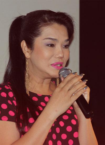 Cindy Thái Tài xúc động chia sẻ cảm nhận về bộ phim tài liệu.
